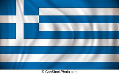 bandera, grecja