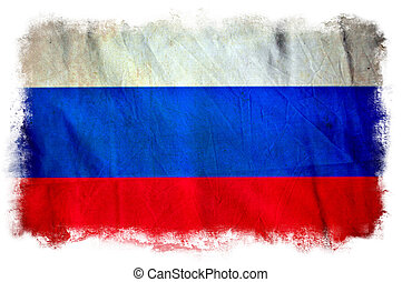 bandera, grunge, rosja