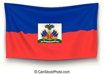 bandera, haití