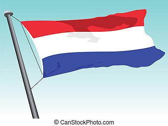 bandera, holenderski
