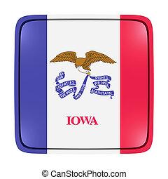 bandera, icono de iowa