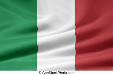 bandera, italia