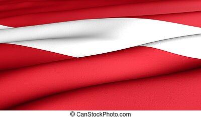 bandera, letonia