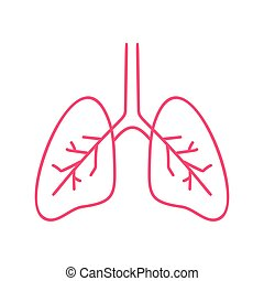 bandera, logo., pulmones, coronavirus, humano, pandemia, ...