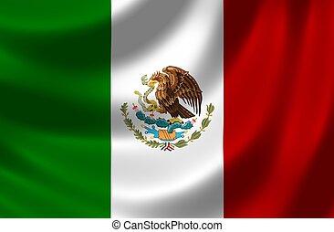 bandera, méxico