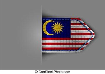 bandera, malasia