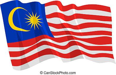 bandera malasia