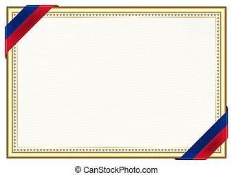 bandera, marco, liechtenstein, frontera
