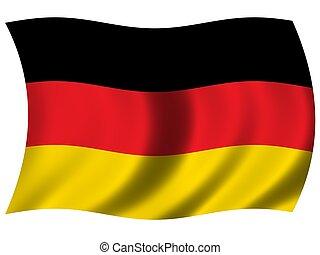bandera nacional, alemania