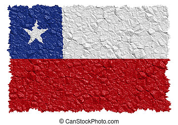bandera nacional, chile