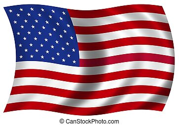 bandera nacional, estados unidos de américa