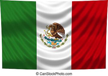 bandera nacional, méxico