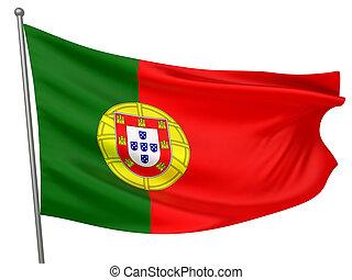 bandera nacional, portugal