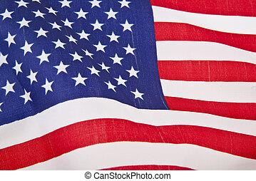 bandera, nosotros, plano de fondo