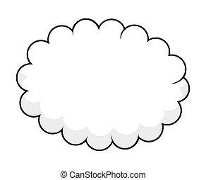 bandera, nube