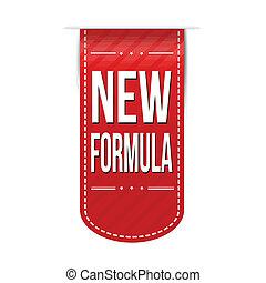 bandera, nuevo, diseño, fórmula