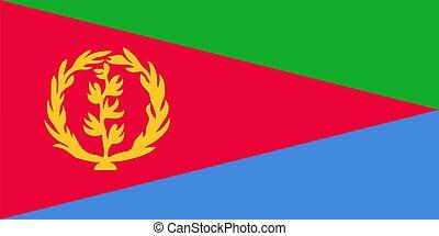 bandera, od, eritrea