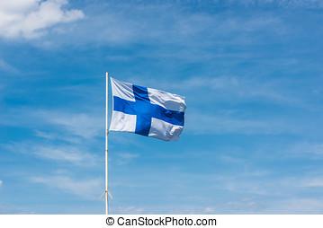 bandera, od, finland.