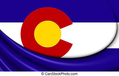 bandera, od, kolorado, usa.