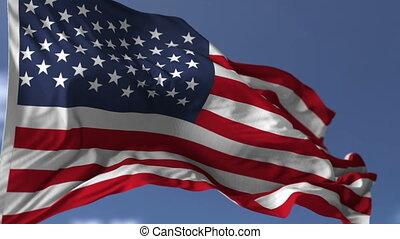 bandera, od, usa