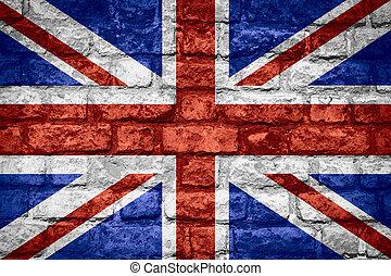 bandera, od, wielka brytania