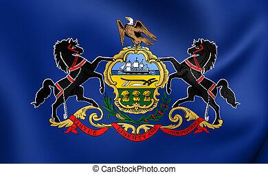 bandera, pensilvania, usa.