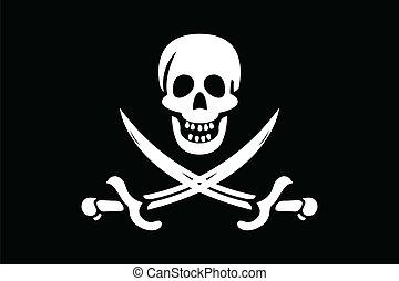 bandera, pirat