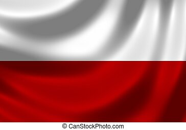 bandera, polska