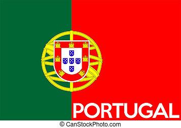 bandera, portugal