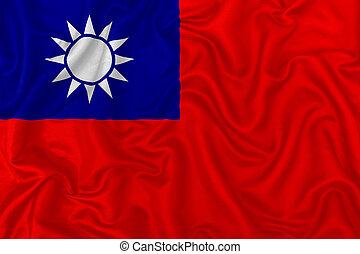 bandera, república, china
