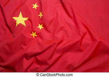 bandera, república, chino