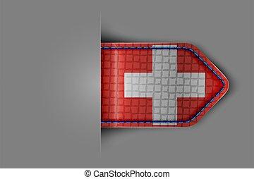 bandera, suiza