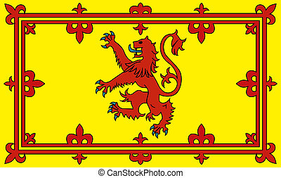 bandera, szkocja
