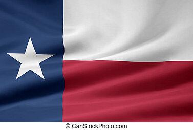 bandera, tejas