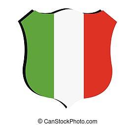 bandera, włoski