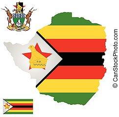 bandera, zimbabwe