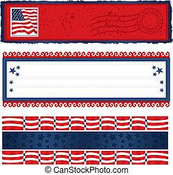 banderas, americana