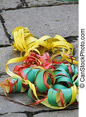 banderoles, carnaval