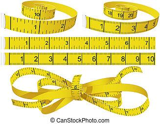 bandes mesurer