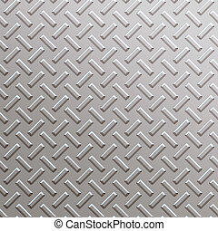 bandes roulement, plaque diamant, carrée