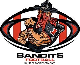 bandidos, fútbol