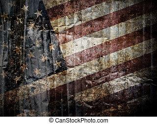 bandiera americana, fondo