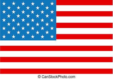 bandiera americana, strisce stelle