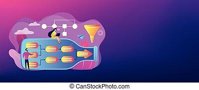 bandiera, analisi, concetto, header., bottleneck