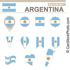 bandiera argentina, collezione