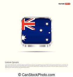 bandiera australia, vettore, disegno