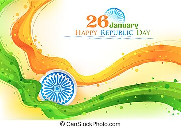 bandiera, bandiera india, indiano, tricolore