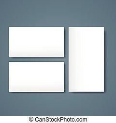 bandiera, beffare, pagina, affari, carta, vuoto, su, scheda...