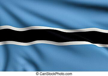 bandiera, botswana