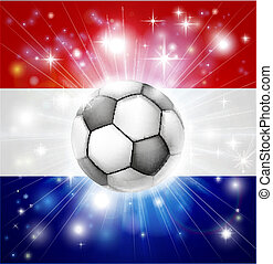 bandiera, calcio, olandese